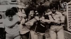 MASS ARRESTS. Martial law led to the arrest of Marcos critics. Photo courtesy of Dr Ferdinand Llanes, from the exhibit of UP Likas. (from Rappler)